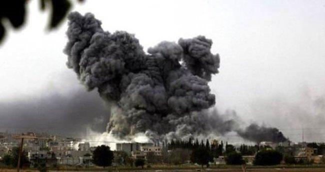 Suriye'de köy bombaladı: 20 kişi ölü, 35 yaralı