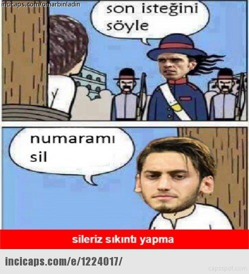 Çalhanoğlu, Sofuoğlu'nu tanımayınca capsler patladı