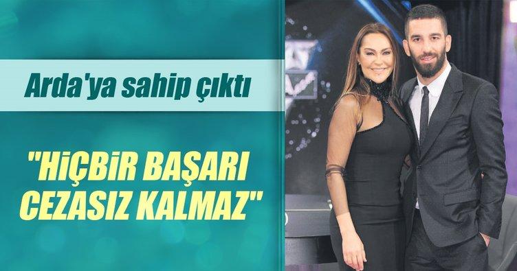 Hülya Avşar, Arda'ya sahip çıktı