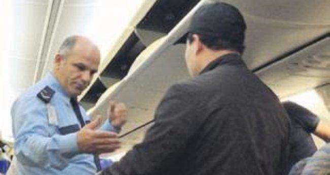 Dubai uçağında hırsızı yolcular yakaladı