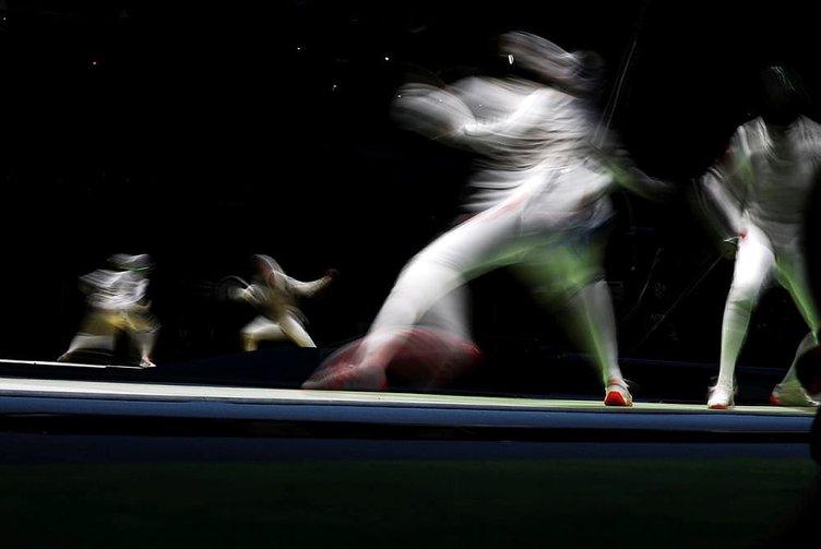 Rio Olimpiyatları eskrim elemeleri yapıldı
