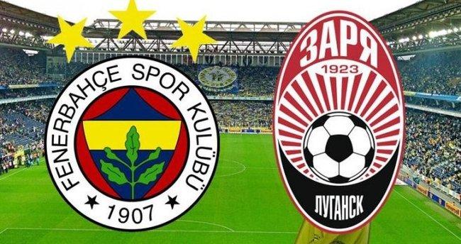Fenerbahçe - Zorya  maçı ne zaman - hangi kanalda saat kaçta?