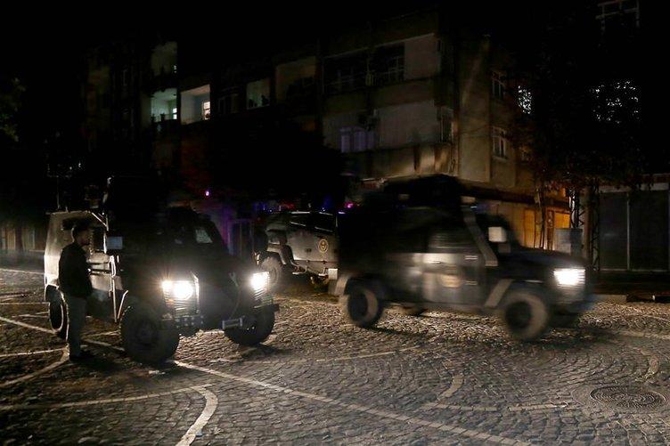 Diyarbakır'da polise ateş