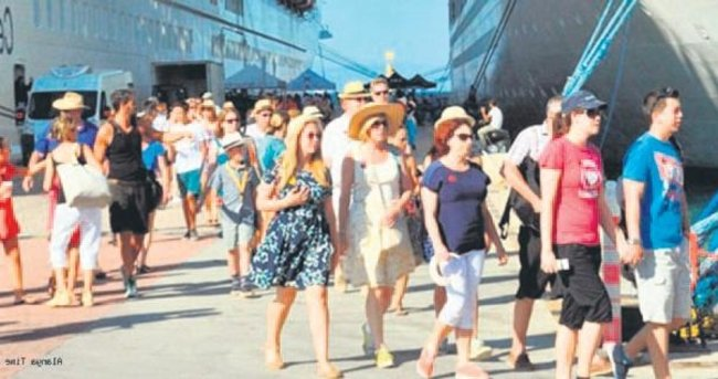Turistin Türkiye iştahında azalma yok