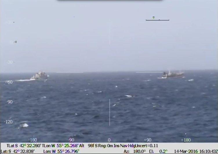 Arjantin'de Çinli balıkçı gemisi batırıldı
