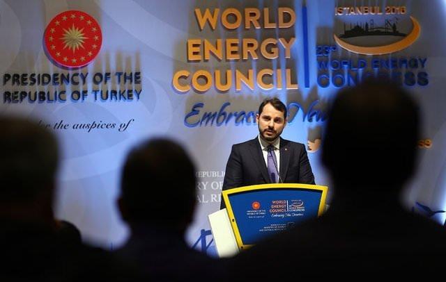 Kritik 'Dünya Enerji Kongresi' başladı
