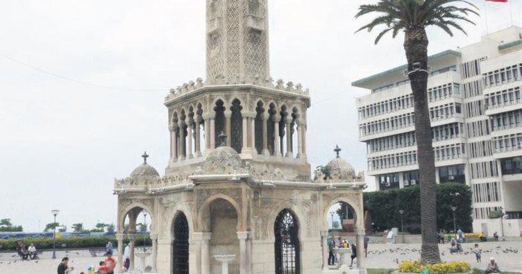 Saat Kulesi'nin muslukları çalındı