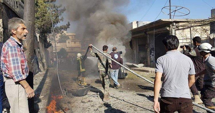 Azez'de otogarda bombalı saldırı: 4 ölü, 7 yaralı