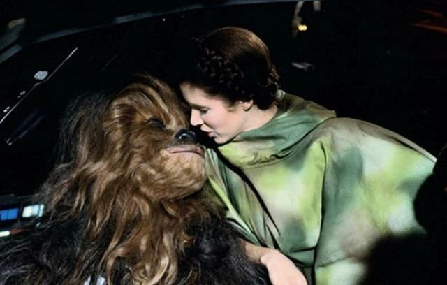Return of the Jedi'ın kamera arkası
