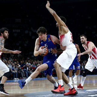 Anadolu Efes'ten Olympiacos'a so�uk du�!