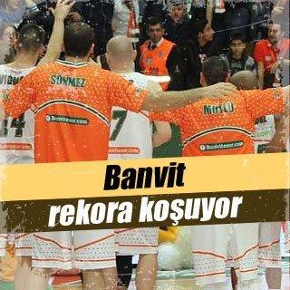 Banvit, kendi rekorunu kırmak istiyor