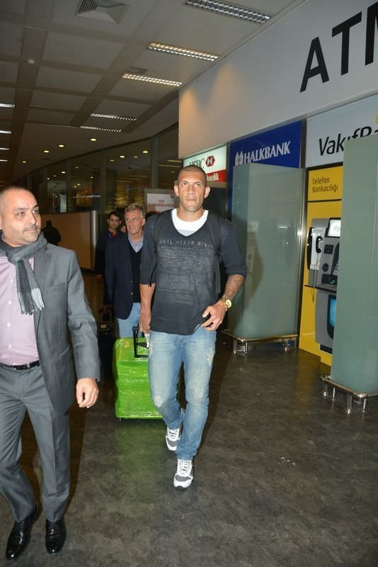 Bursaspor'un yeni transferi Fernandao Türkiye'de