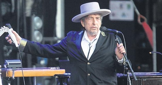 'Nobel Edebiyat' Bob Dylan'ın