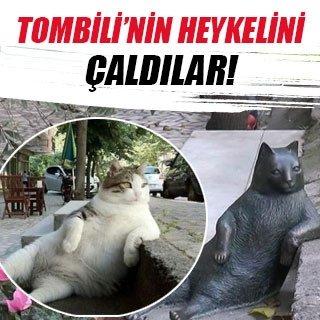 Tombili'nin heykeli çalındı