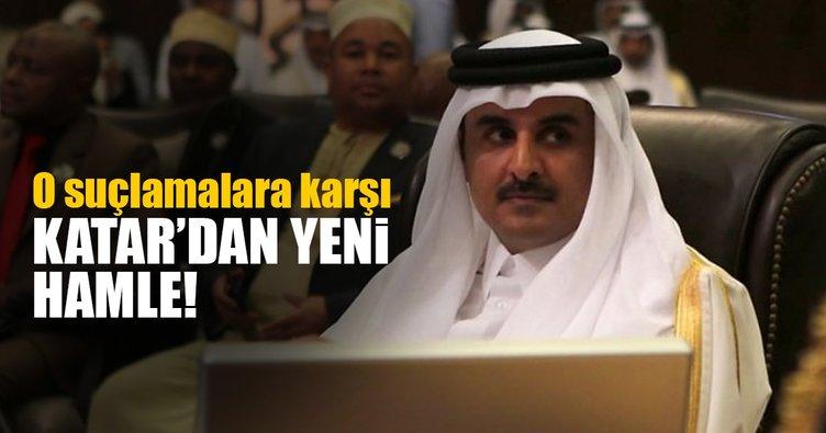Katar'dan 'terörü destekleme' suçlamalarına karşı yeni hamle