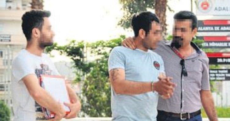 Esrar partisine polis baskın yaptı