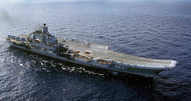 Rusya Akdeniz'e yeni bir uçak gemisi gönderiyor