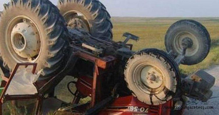 Bartın'da traktör devrildi: 1 ölü