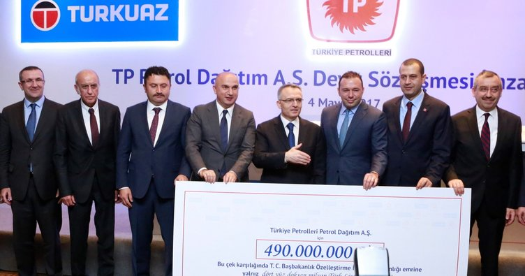 Turkuaz Petrol, Türkiye Petrolleri Petrol Dağıtım'ı devraldı