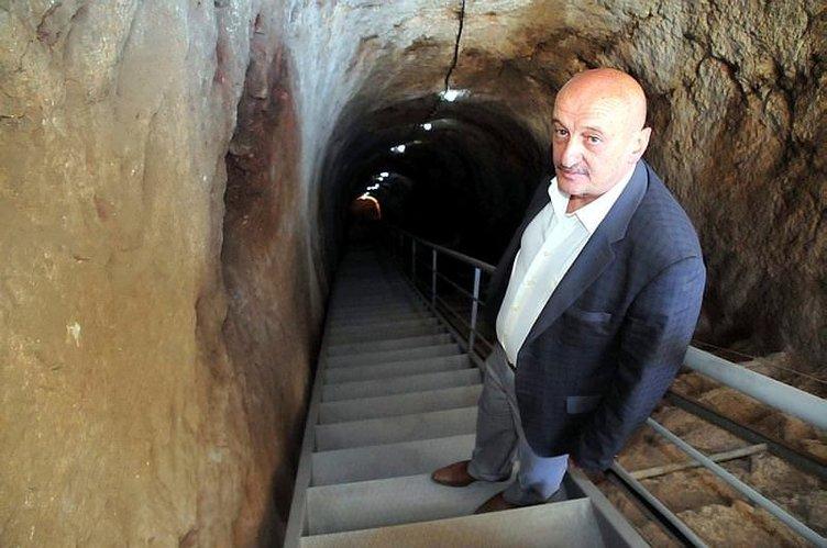 Kont Dracula'nın 'korku tüneli' açılıyor
