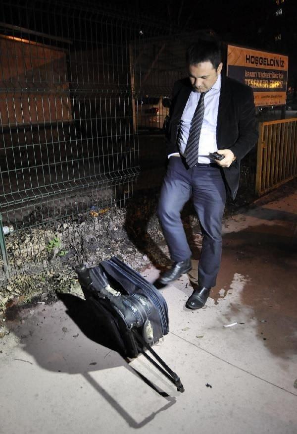 Şişli'de şüpheli bavul paniği