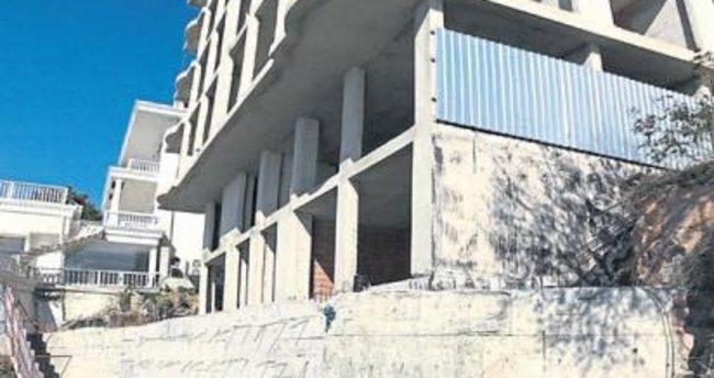Kaçak inşaat tehlike saçıyor