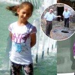 Küçük kız ölü taklidi yaparak kurtulmuş