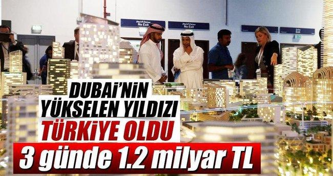 Dubai hasılatı 1.2 milyar TL