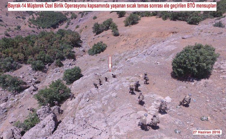 PKK'lılar böyle teslim oldu!