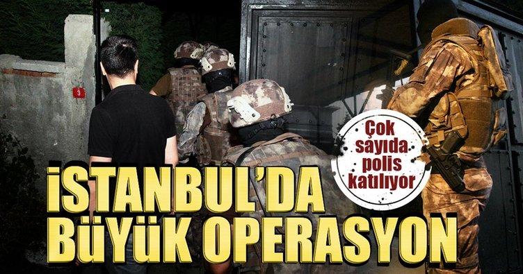 Son dakika: Çekmeköy'de uyuşturucu operasyonu