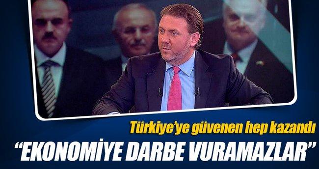 Türk ekonomisinden tek çakıl taşı koparamayacaklar
