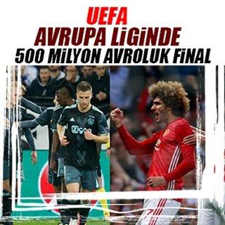 UEFA Avrupa Ligi'nde 572 milyon avroluk final