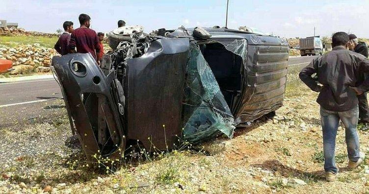 Şanlıurfa'da trafik kazası: 1 ölü, 2 yaralı