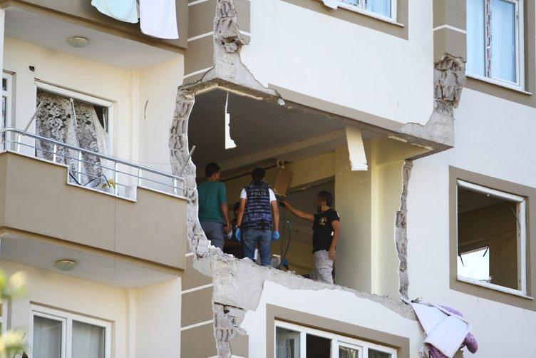 Terörist evinde incelemeler tamamlandı