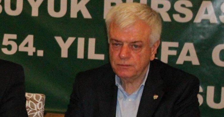 Bursaspor Başkanı Ali Ay: Bizi birlik ve beraberlik kurtarır
