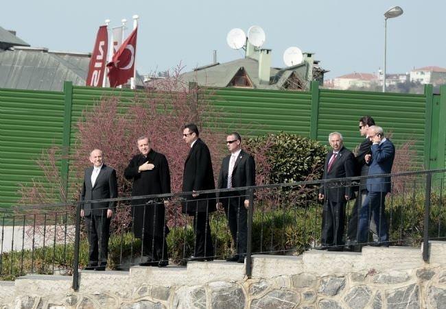 Başbakan Erdoğan'dan üçüncü köprü incelemesi