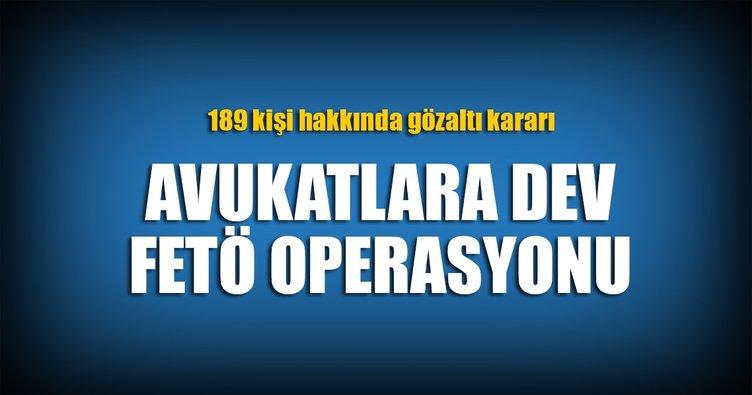 İstanbul'da ByLock'çu avukatlara FETÖ operasyonu!