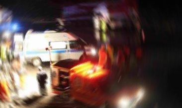 Başkentte otomobil refüje çarptı: 1 ölü