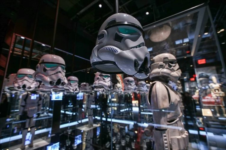 Star Wars kostümleri New York'ta sergileniyor