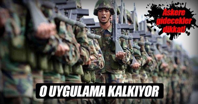 Askerlik yoklaması işlemlerinde yeni dönem
