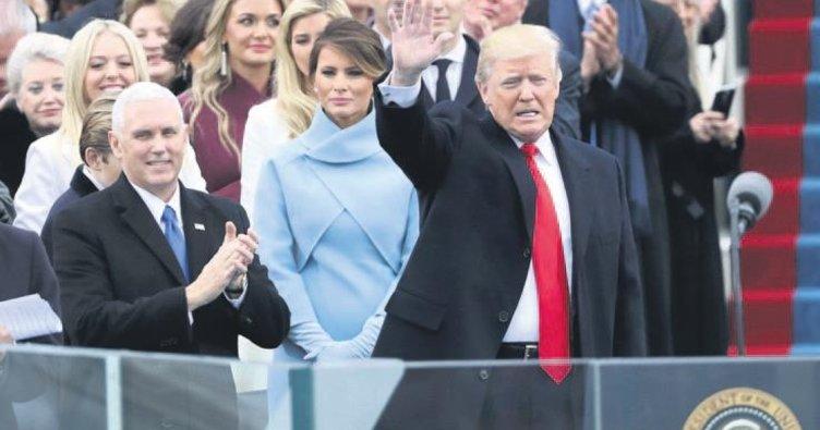 Trump yemin töreni için 107 milyon dolar toplamış
