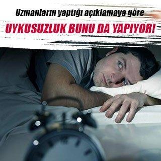 Uykusuzluk şişmanlatıyor!