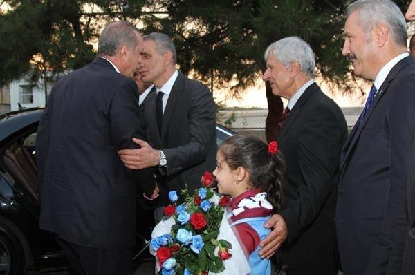 Başbakan Trabzonspor'u ziyaret etti