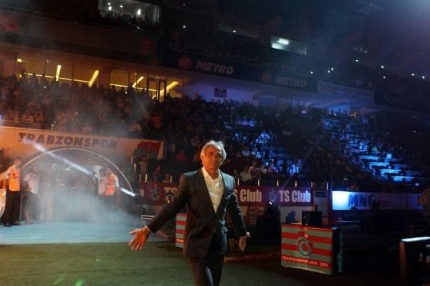 Trabzonspor'dan muhteşem açılış töreni