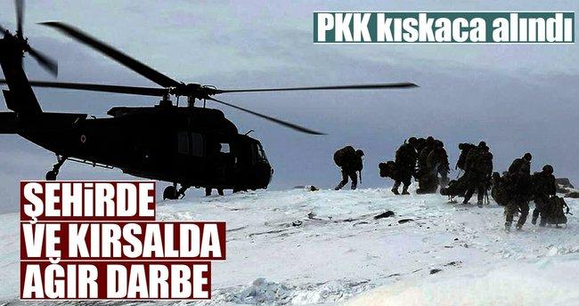 PKK şehirde ve kırsalda güvenlik güçlerinin kıskacında