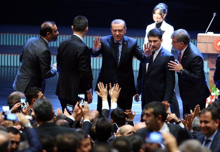 Cumhurbaşkanı Öğretmenlerle bir araya geldi