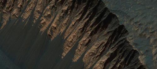 Mars'ta çekilen yakın çekim fotoğraflar