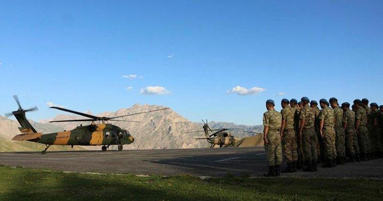 Güven Dağı PKK'ya mezar oldu