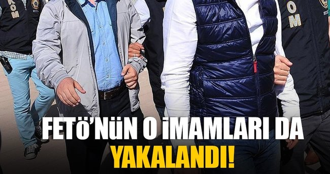 İstanbul ve Marmara imamları yakalandı