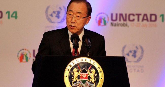 BM Genel Sekreteri Ban Ki-mun'dan Kıbrıs çağrısı